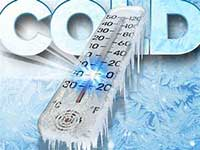 Thermometer Showing Below Zero Temperature